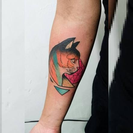 Ocupação Avesso Sub Galeria - Tatuagem por Ricardo Almeida